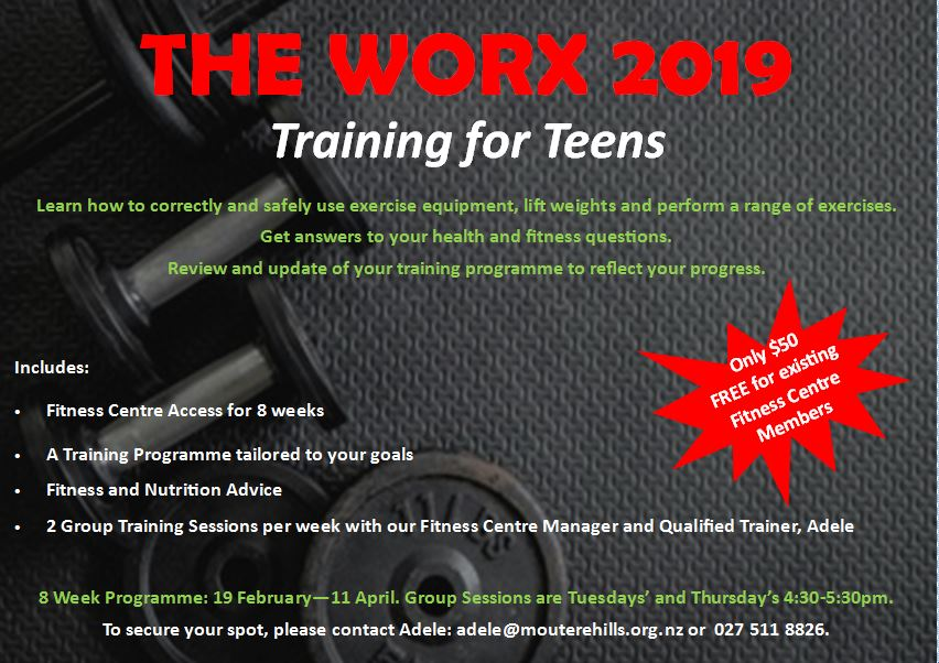 The Worx – Training For Teens